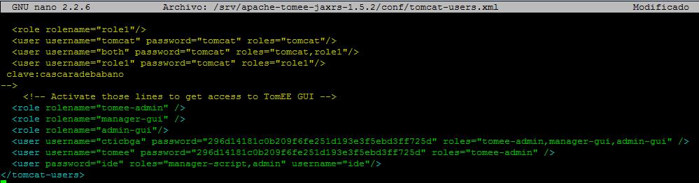 tomcat-users