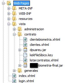 directorio de aplicaciones